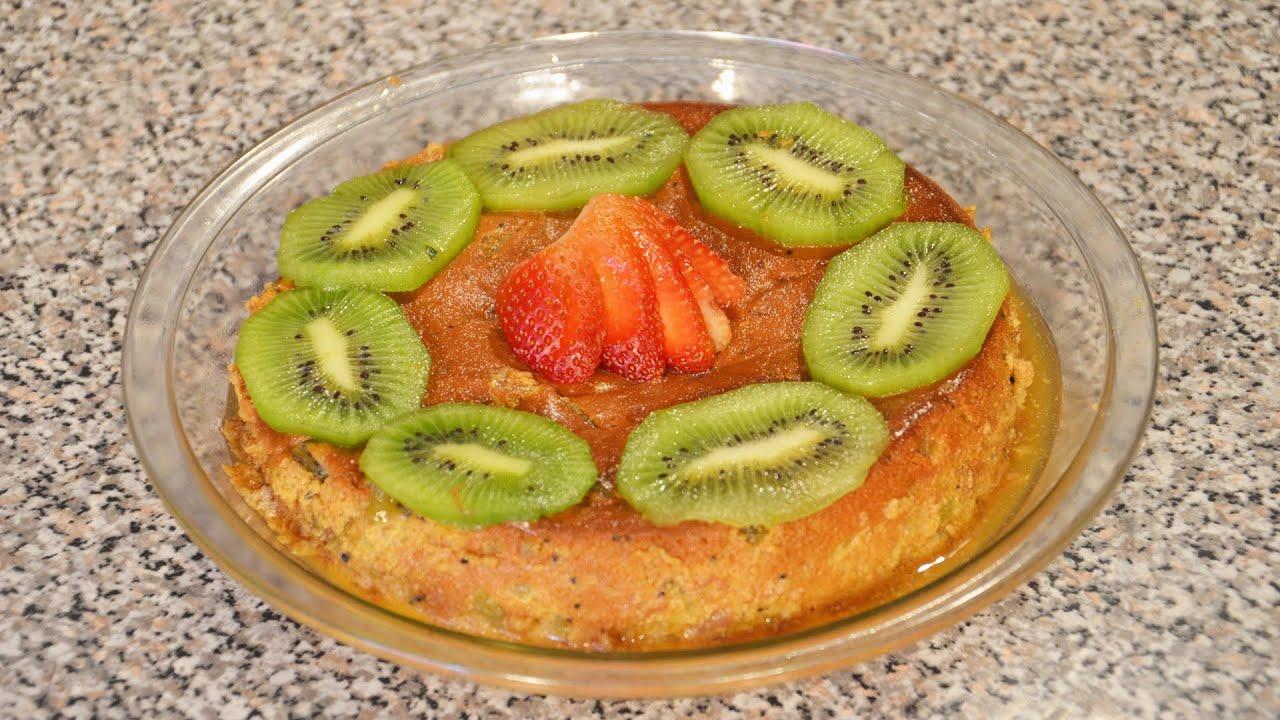 Flan napolitano de fresa y kiwi FACIL | Recetas de cocina fáciles ...