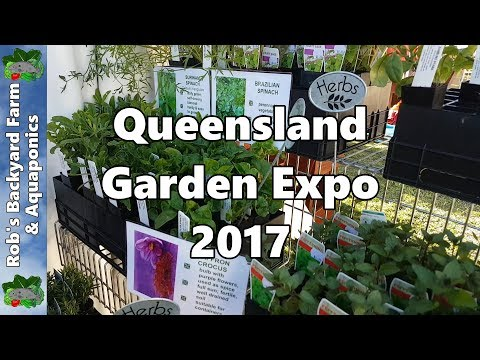 Our QLD Garden Expo Trip 2017- Vegepod, Native Bees, Queensland Nut Buster, Gourds & MORE