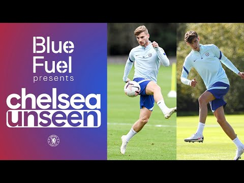 Timo Werner & Kai Havertz On 🔥 In Shooting Drill + Malang Sarr Sneak Peak | Unseen