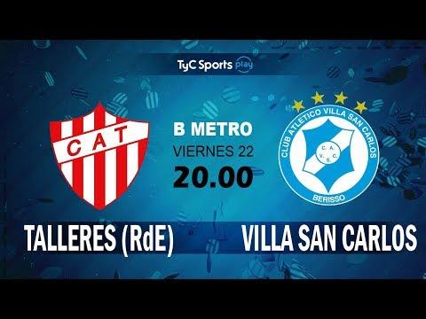 Primera B Metropolitana: Talleres (RdE) Vs. Villa San Carlos l #PrimeraBenTyC