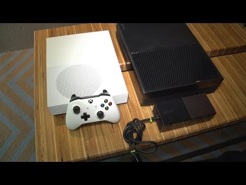 The Xbox One and One S side by side comparison - YouTube