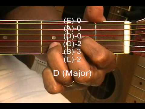 Guitar guitar chords g c d : Passenger Style Chords Guitar Chord Form Lesson Tutorial #96 Key ...