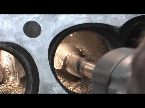Cutting Excess Guide from ProComp 210 SBC Head, custom Porting Combustion  Chambers 4