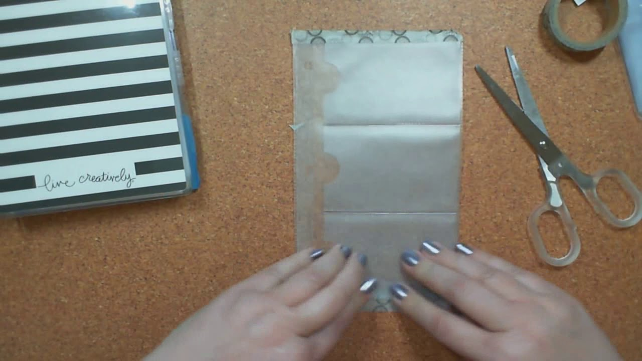 DIY: A business card insert pocket for your Mini Happy Planner ...