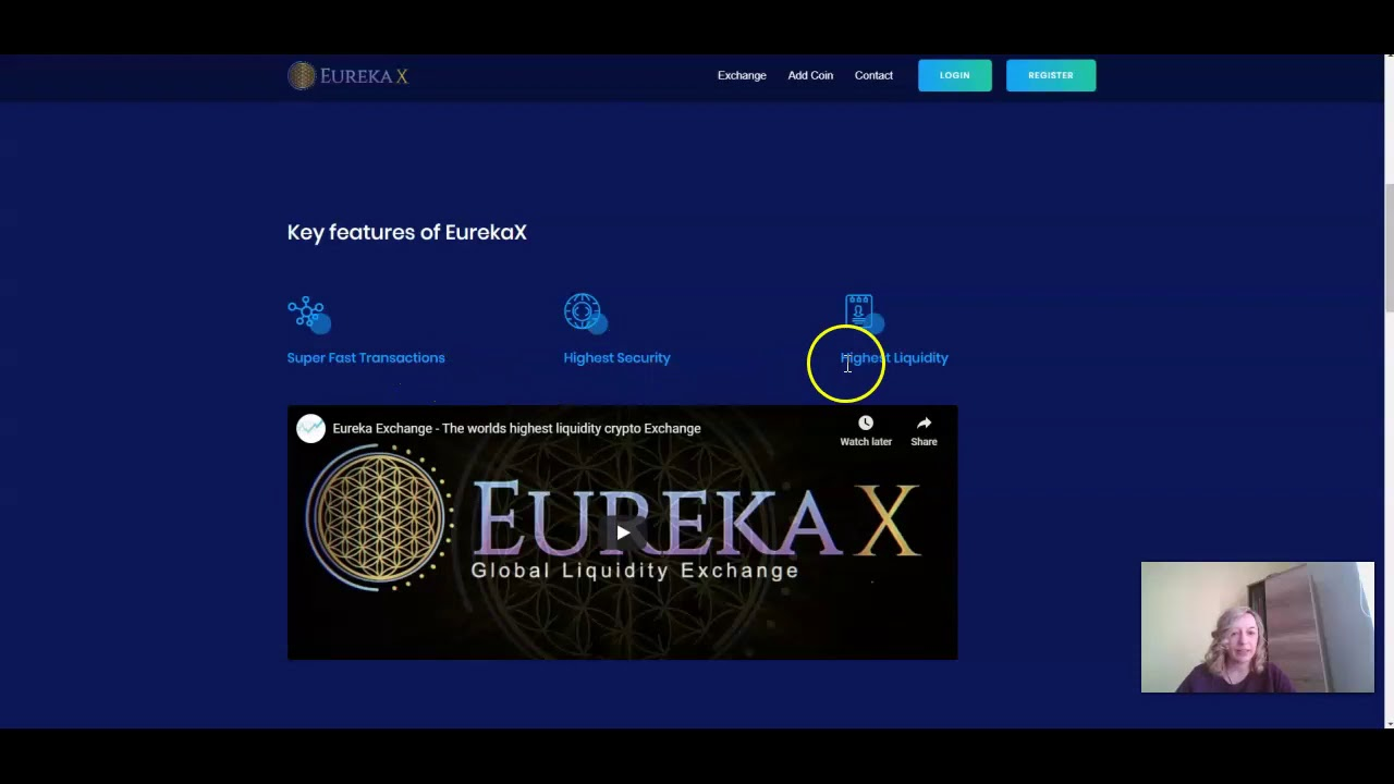 Eurekax-The worlds highest liquidity crypto Exchange /CBT Giveaway