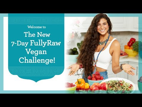 NEW 7-Day FullyRaw Vegan Challenge! Join Now!