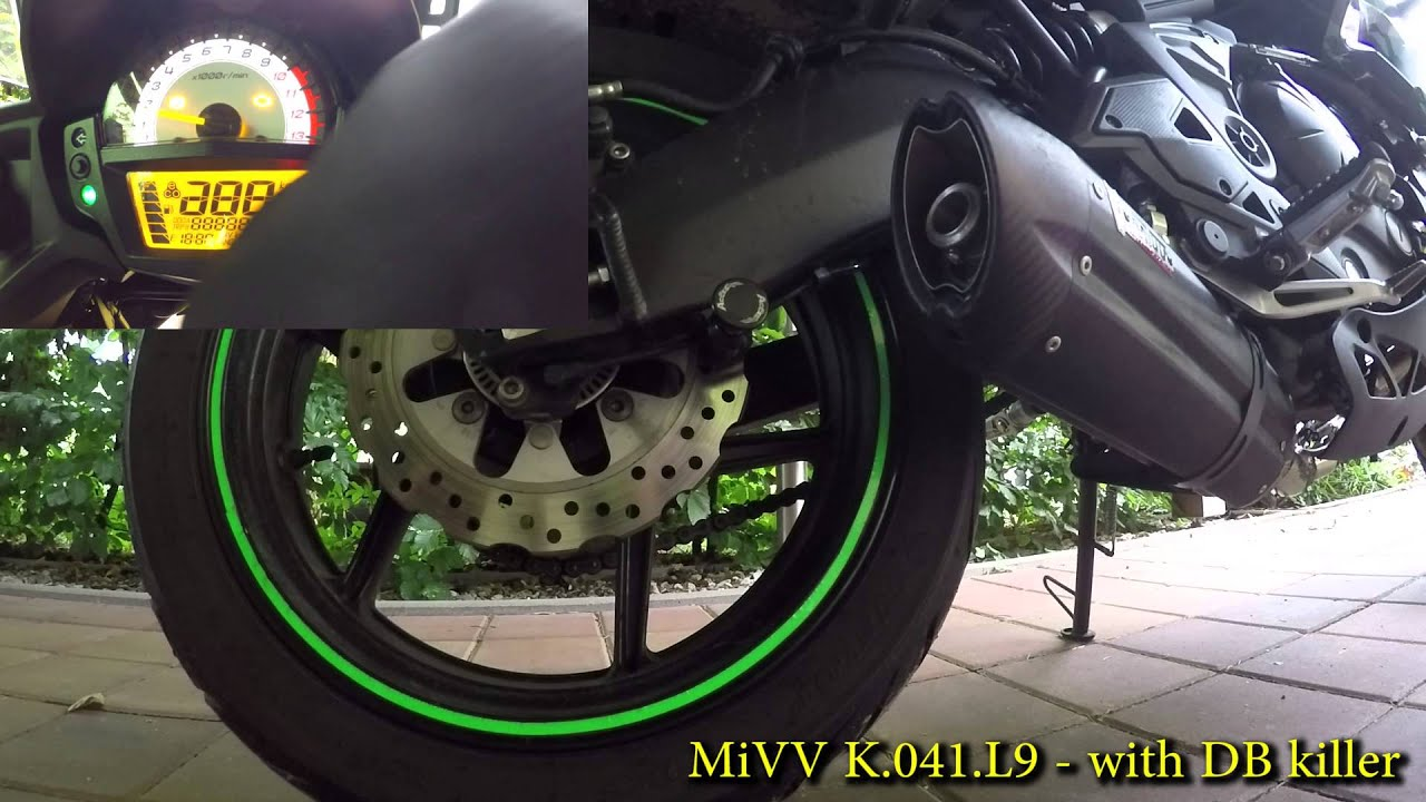 kawasaki versys 650 2015 mivv exhaust l9 sound without. Black Bedroom Furniture Sets. Home Design Ideas