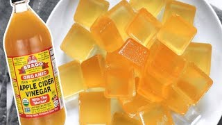 How To Make Apple Cider Vinegar Gummies To Control Blood Sugar and Weight Loss!