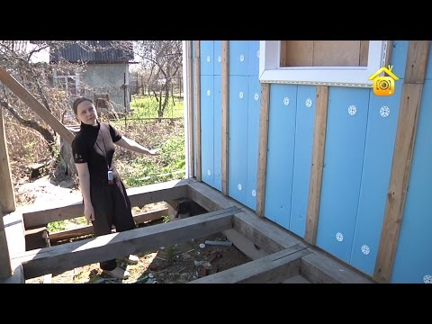 видео: Каркасник в две женских руки // forumhouse