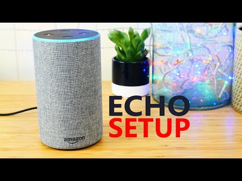 How to set up Amazon Echo and add Alexa smart home skills