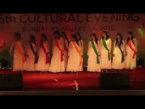 """5th Cultural Evening 2016"" @ #AuroUniversity #Surat #Gujarat #India"