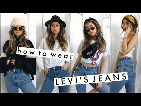 How to Style: Levi's Jeans   hot & cold weather outfits