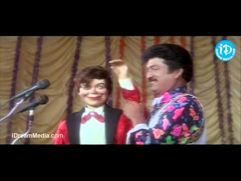 Rajendra Prasad, MS Narayana Nice Comedy Scene - Ammo Bomma Movie