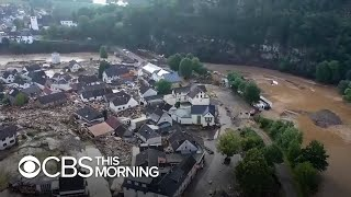 Germany hardest hit by worst flooding in Europe's history