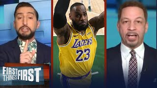 Nick Wright breaks down his updated NBA Player Pyramid of the 2020-21 season | FIRST THINGS FIRST