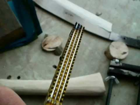 Checkering file - hand made.MOV - YouTube