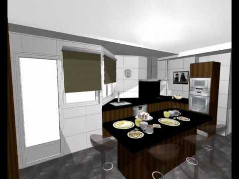 proyecto de cocina mod ebano guarpi muebles youtube