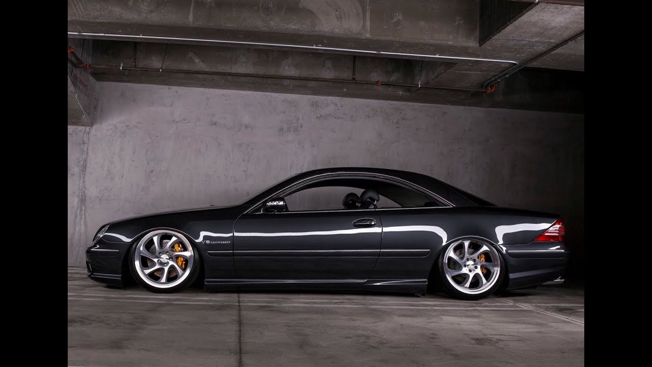 bagged mercedes cl55 amg one take youtube. Black Bedroom Furniture Sets. Home Design Ideas