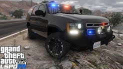 GTA 5 LSPDFR Police Mod 204 Unstoppable Lifted Chevy Tahoe With Off Road Package | ITS MY BIRTHDAY!