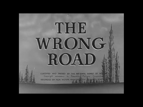 The Wrong Road (1937) Drama