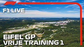 F1 LIVE: 2020 Eifel Grand Prix - FP1 | Nederlands Commentaar