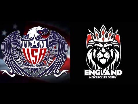 MRDWC 2016 England v USA Championship Final Mens Roller Derby World Cup