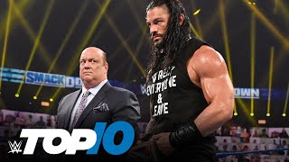 Top 10 Friday Night SmackDown moments: WWE Top 10, Sept. 18, 2020
