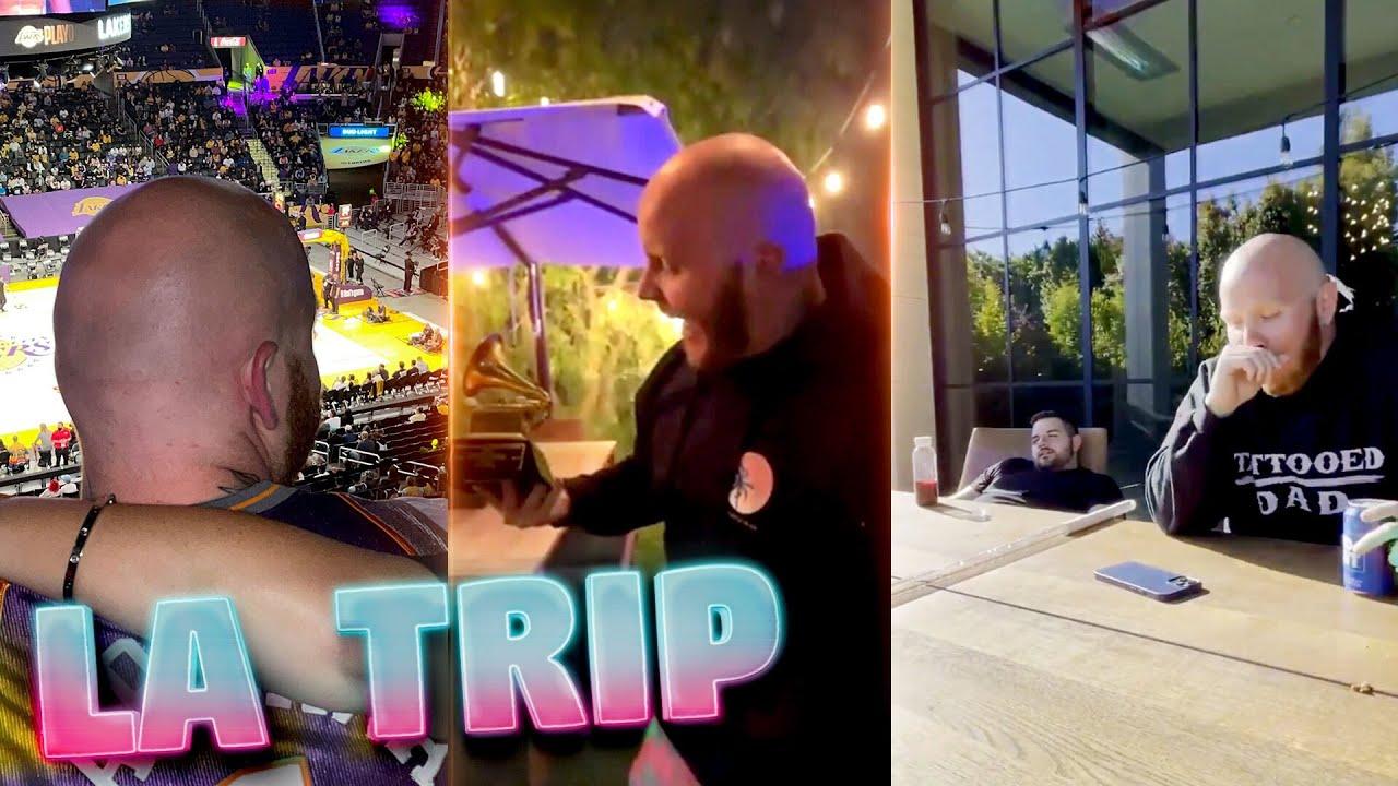 TIM TALKS ABOUT HIS LA TRIP