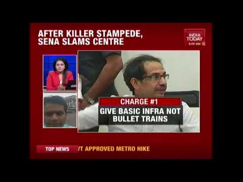 'Mumbai In Need Of Basic Infrastructure Ahead Of Bullet Train' Says Shiv Sena Chief