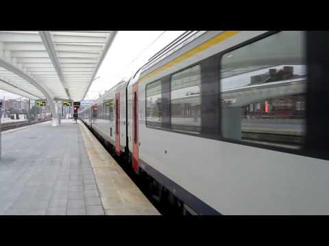 Entrée en gare - Liège-Guillemins