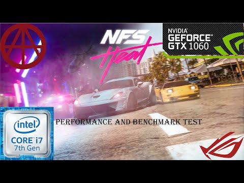 Need For Speed Heat - GTX1060 6GB-cor I7 7700 | ROG GL502VM