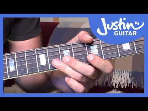 Blues Lick: T-Bone Walker Style (Guitar Lesson BL-553)