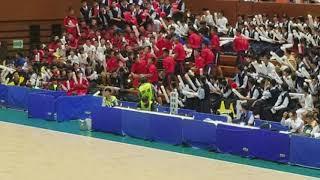 愛媛国体 ハンドボール少年男子 愛媛 vs 千葉 ハーフタイム2