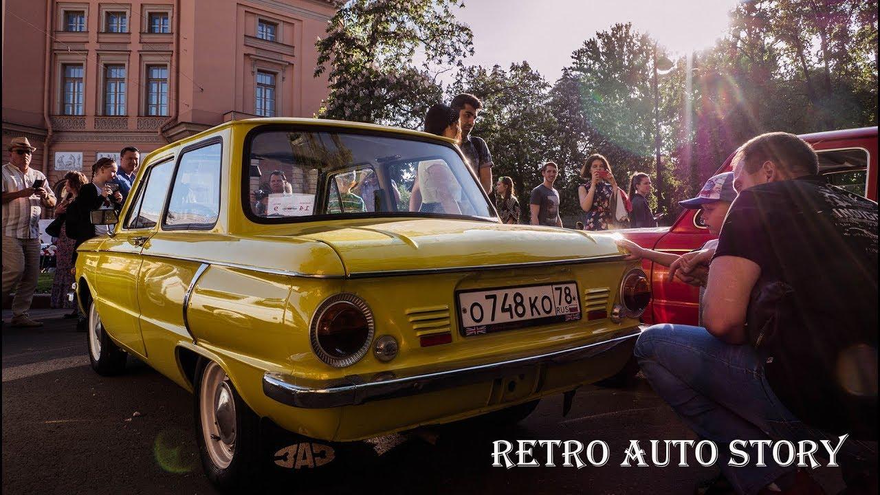 d280306ba985e Старинные автомобили на выставке ретро авто в Санкт - Петербурге на день  города 2018 / Clan Masikow. SHOW Clan Masikow