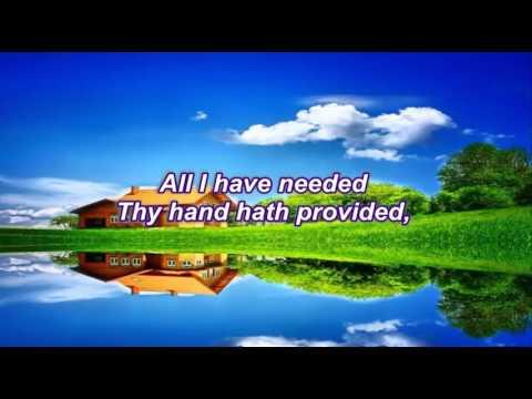 Great is Thy Faithfulness  (I Rinawmna Ropui} -  Karaoke (music track)