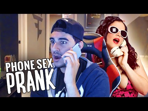 PHONE SEX PRANK!