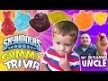 Skylanders Gummy Surprise + Trivia: Ask Lightcore Chase & Uncle Crusher [P2 of 2]