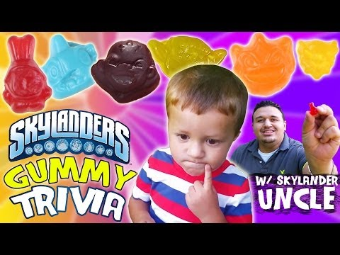 Thumbnail: Skylanders Gummy Surprise + Trivia: Ask Lightcore Chase & Uncle Crusher [P2 of 2]