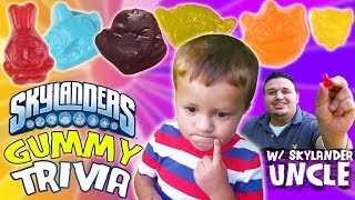 Skylanders Gummy Surprise + Trivia: Ask Lightcore Chase & Uncle Crusher [P2 of 2] thumbnail