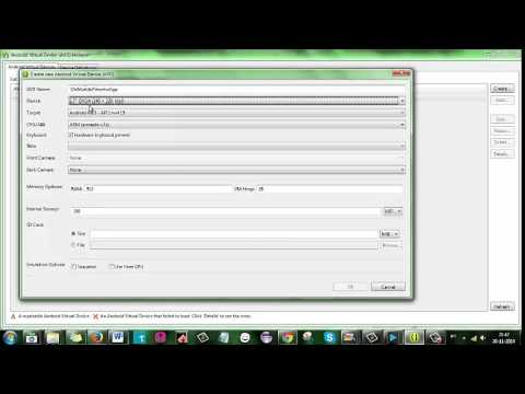 AVD, Android Virtual Device Manager
