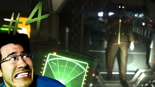 STOP CHASING ME!! | Alien Isolation - Part 4