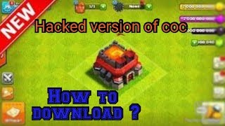 How to download COC hack version by COC guru