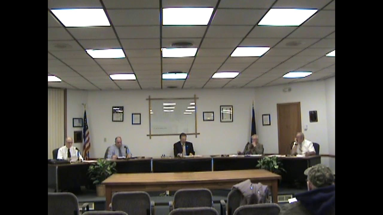 Rouses Point Village Board Meeting  1-2-18