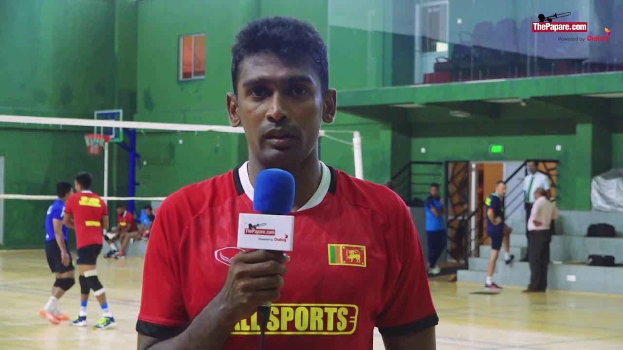 Chamara Mihiran Captain Sri Lanka Men S Volleyball Asian Games 2018 Youtube