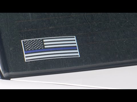 Citizen Complains About APD Officer's 'thin Blue Line' Flag Decal