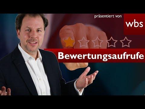 BGH: Rechnung mit Bewertungsaufruf = Illegal? | Rechtsanwalt Christian Solmecke