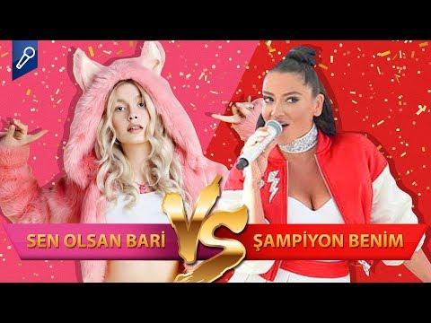Aleyna Tilki - Sen Olsan Bari mi, Hadise - Şampiyon mu? -- Şarkı / Şarkıcı Düelloları