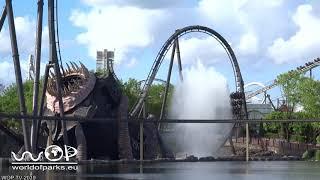 ... heide park soltau rollercoaster krake pov - heidepark amuse...