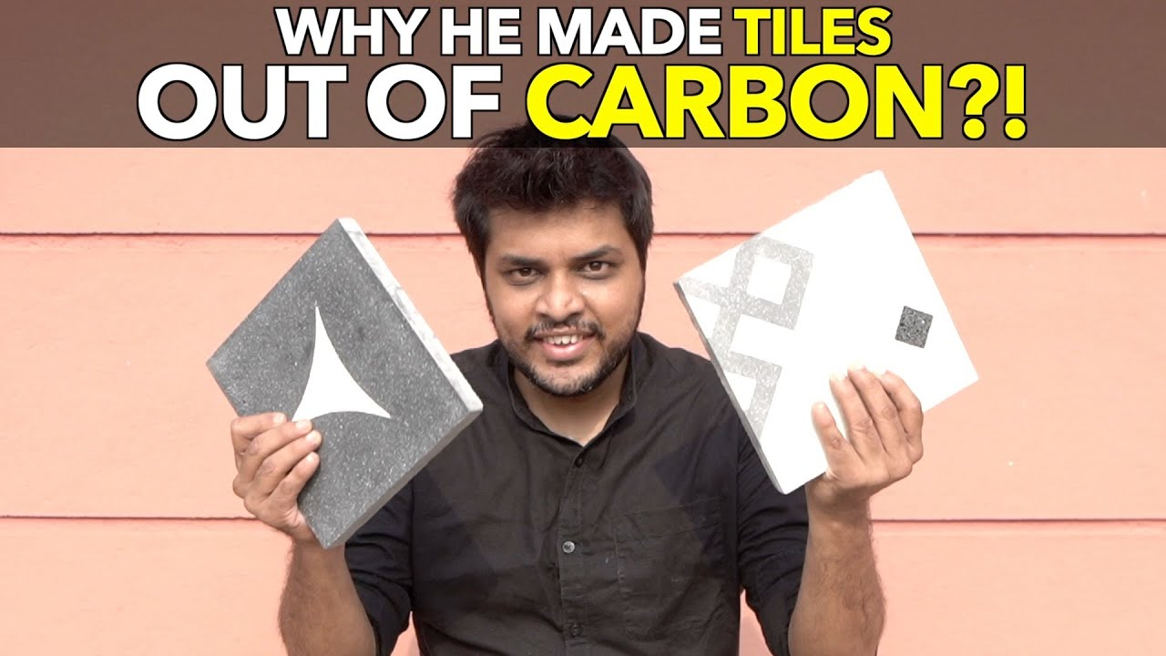 Why He Made Tiles out of Carbon?!