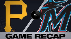Moran, pitching power Pirates to 11-0 rout | Pirates-Marlins Game Highlights 6/14/19